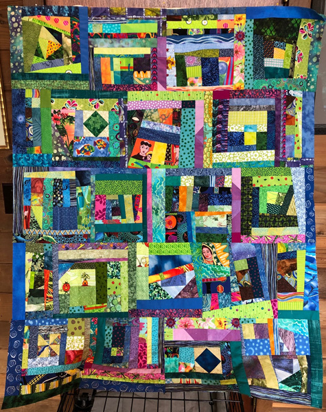 Kitty's Block Quilt