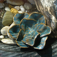 Water Petals Bluestone